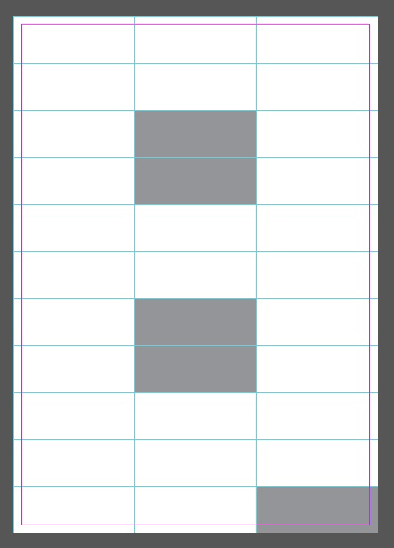 Grid for Bike Poster