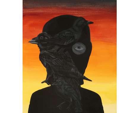 Silhouette-bird